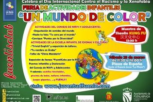 """""""Un Mundo de Color"""": ¡Celebra el Día Internacional Contra el Racismo y la Xenofobia con nosotros!"""