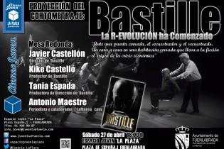"""Proyección del cortometraje """"Bastille"""", en el Espacio Joven """"La Plaza"""""""